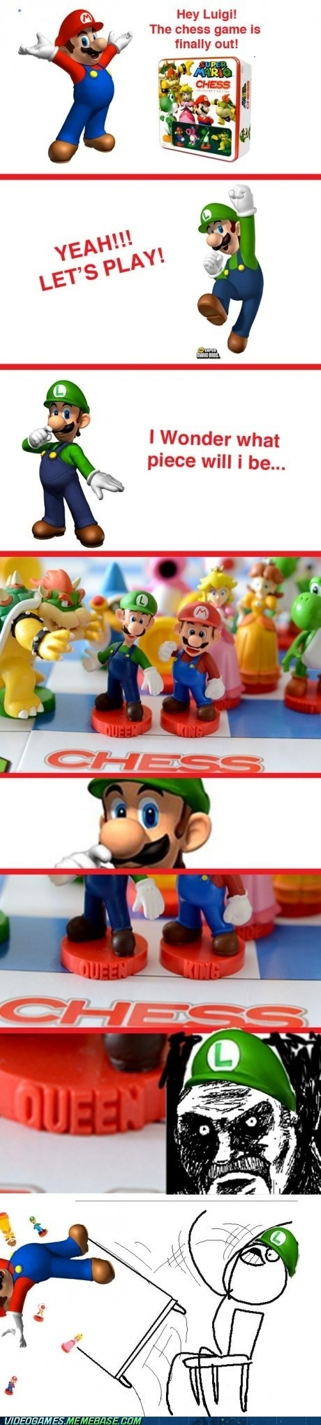 chess comic luigi mario queen - 6487757824