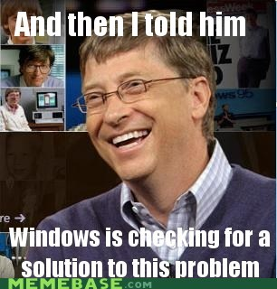 Bill Gates computing solution They Said windows