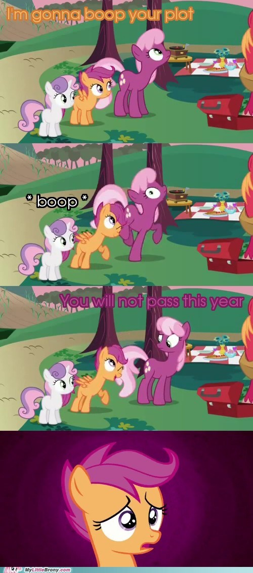 boop comics scootaloo. comic. cheeril scootaloo-comic-cheerilee you shall not pass - 6487868672