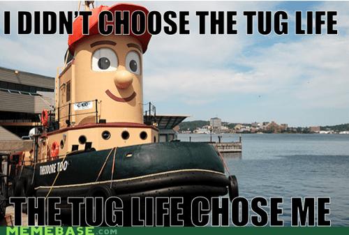 Memes,theodore the tugboat,thug life