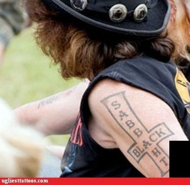 black sabbath misspelled tattoos - 6488027904