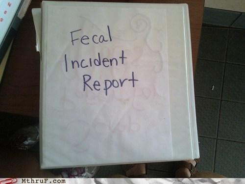 binder fecal incident report incident report - 6488069632