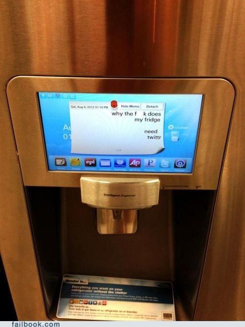 appliances refrigerator tweet twitter