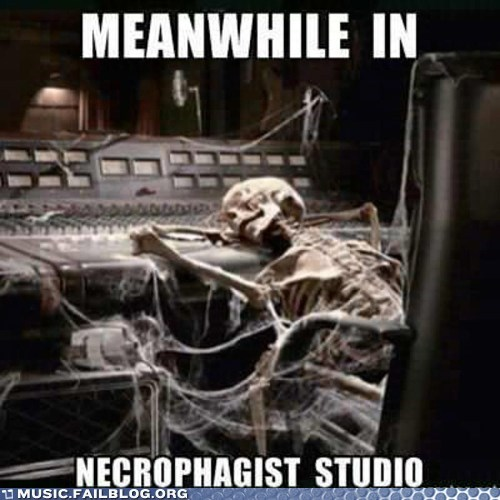 album delay metal necrophagist