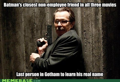 batman commissioner gordon Dark Knight Rises gotham Memes