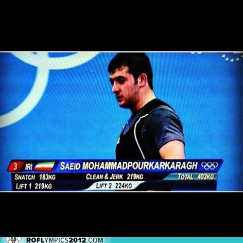 iran,London 2012,name,olympics