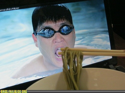 eating noodles olympics swimming - 6488227328