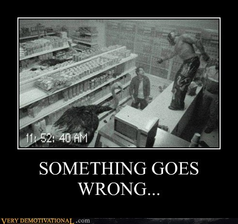 hilarious something goes wrong store wtf