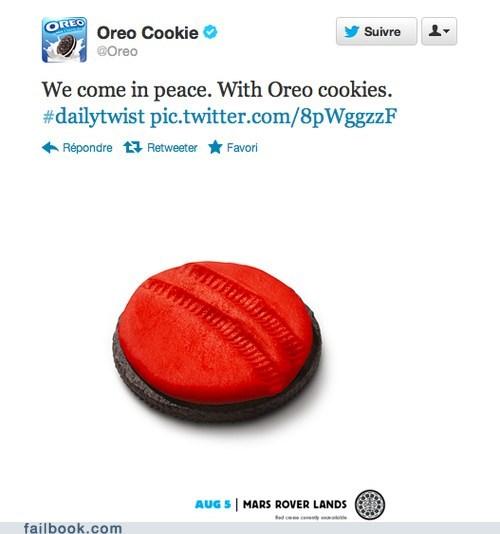 curiosity mars rover oreo tweet twitter - 6488290304