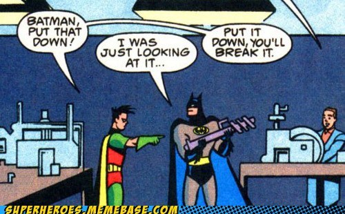 batman irresponsible robin Straight off the Straight off the Page - 6488387328