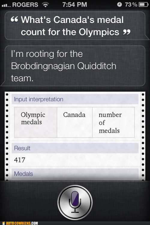 medals olympics quidditch results siri - 6488444928