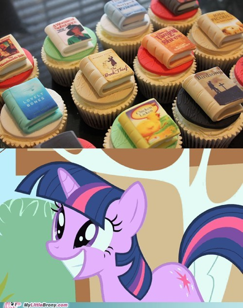 books cupcakes IRL twilight sparkle - 6488450816