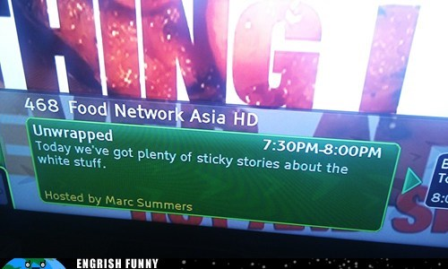 Food Network,food network asia,marc summers,sticky rice,unwrapped