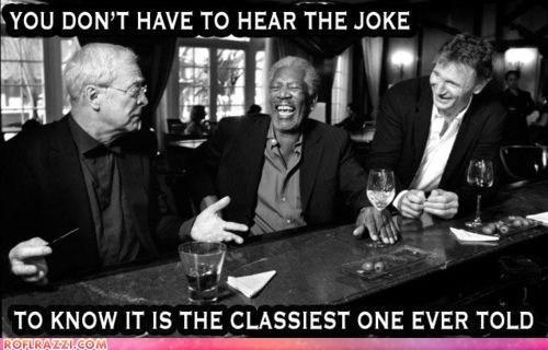 actor celeb funny liam neeson michael caine Morgan Freeman - 6488604672