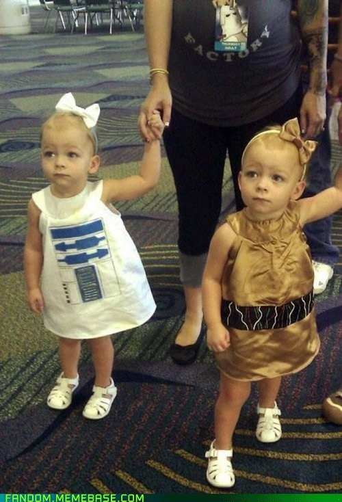 cosplay cute droids kids scifi star wars - 6488618752