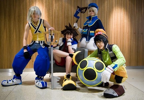 cosplay donald duck goofy kingdom hearts video games - 6488623360