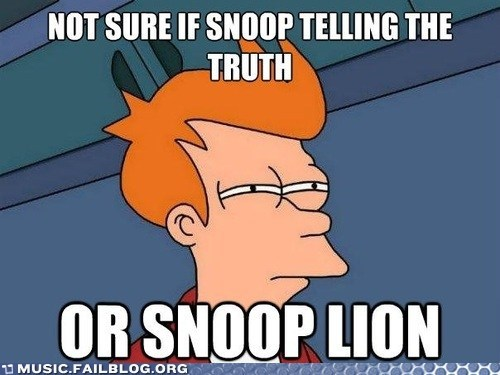 frye meme not sure if snoop dogg snoop lion - 6488762112