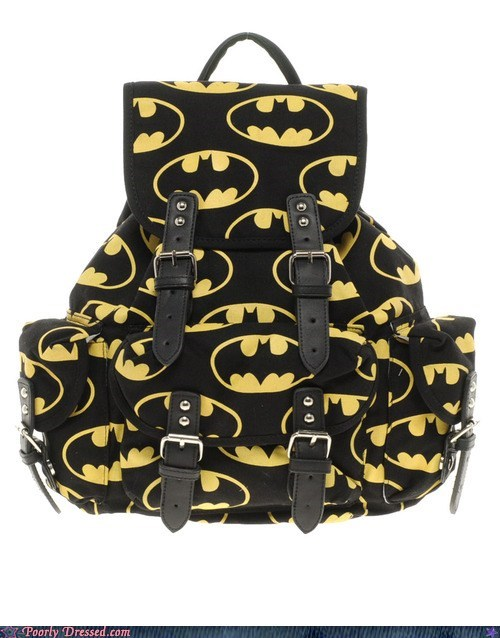 backpack,batman,design