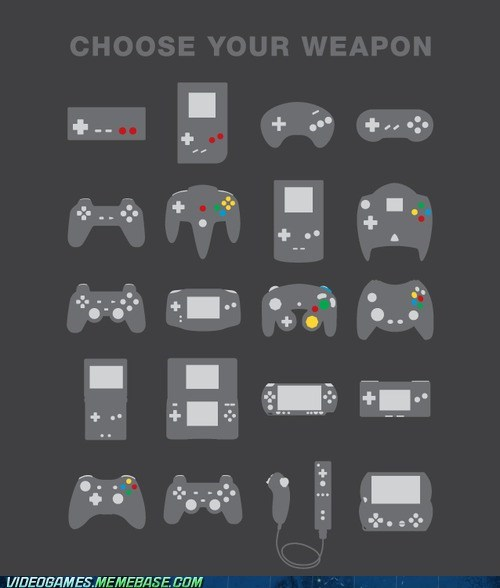 choose your weapon,controllers,the internet,the internets