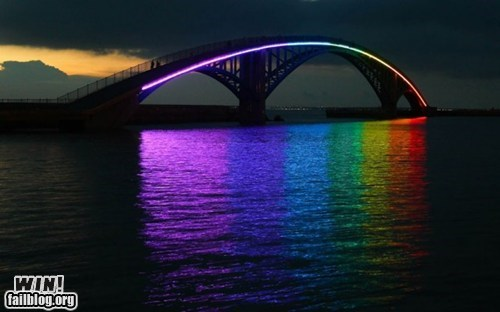 architecture,bridge,design,pretty colors,rainbow,wincation