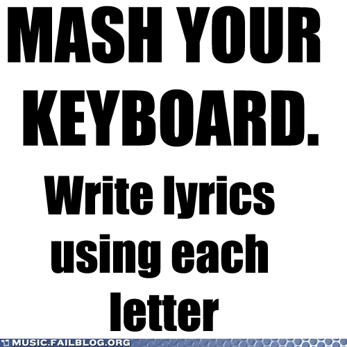 keyboard,lyrics,MASH
