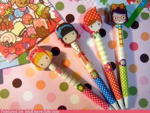 back to school pencils pens stationery