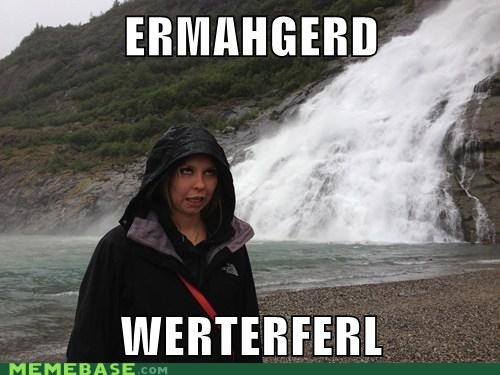 beautiful,derp,Ermahgerd,nature,waterfall