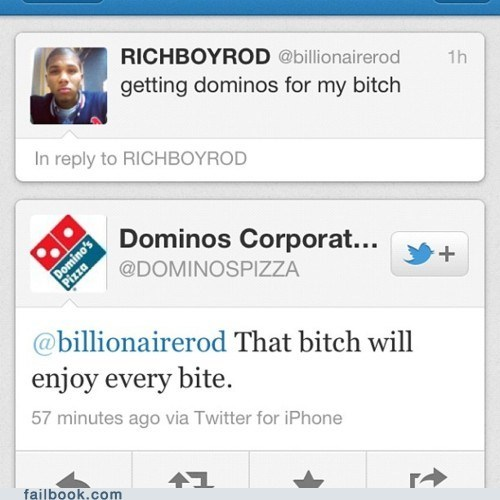 domino,the b word,twitter