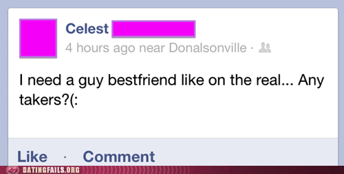 any takers,best friend,friendzone