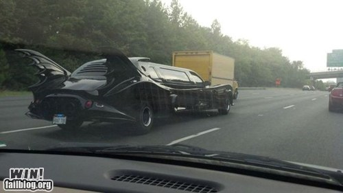 batman driving limo nerdgasm - 6489313536
