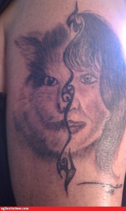 cat face woman - 6489738240