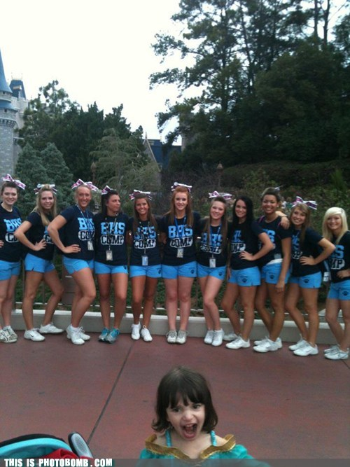cheerleader girls kid Kids are Creeper Kids are Creepers Too yell