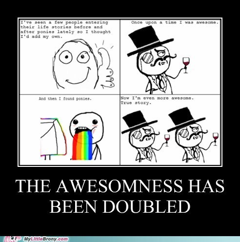 The awesomness has been doubled
