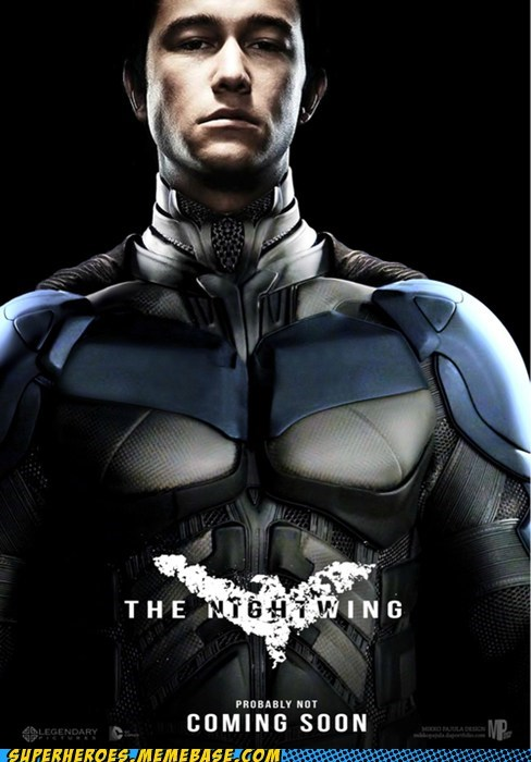Joseph Gordon-Levitt nightwing photoshop superheroes The Movies