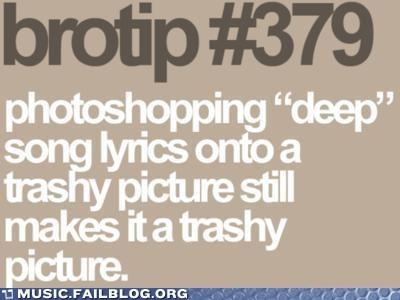 brotip lyrics trashy - 6490358784