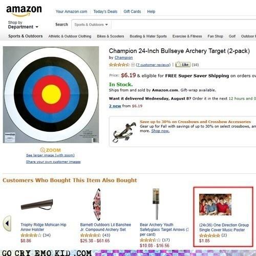 one direction,archery,Target,bullseye