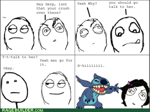 dating,Rage Comics,relationships,stitch