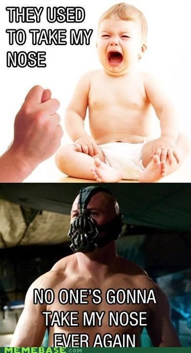 angry baby bane nose Super-Lols - 6490671616