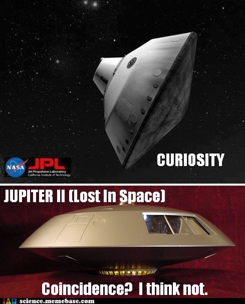 curiosity jupiter 2 lander Lost In Space module Rocket Science