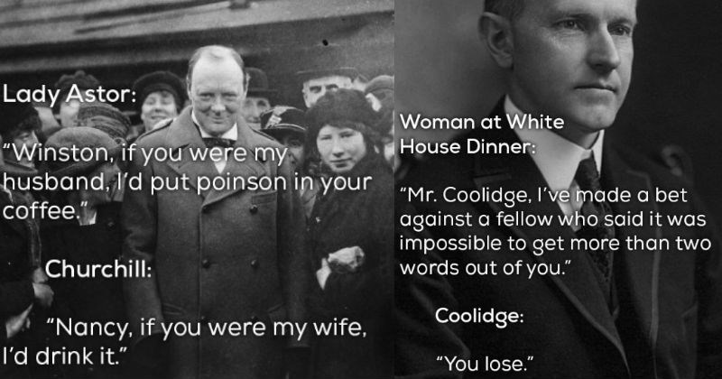 savage comebacks and insults by historical figures