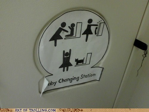 baby changing station IRL pets sign - 6491093760
