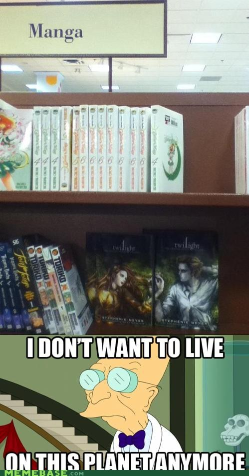 comic i dont want to i dont want to live on this planet anymore manga twilight - 6491109888