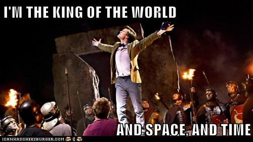 doctor who king of the world Matt Smith space the doctor time - 6491146752