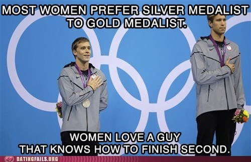 dating fails,g rated,love a guy,olympics,ROFLympics,second,sexytimes,silver medal