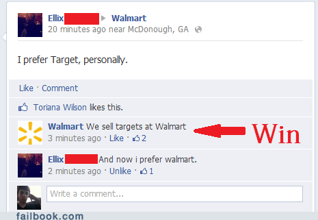 Target,wal mart