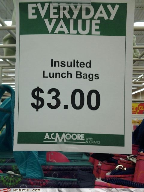 highly offensed,insulted lunch bags,lawyer,lunch bags