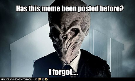 doctor who forgot meme memory posted the silence - 6491385088