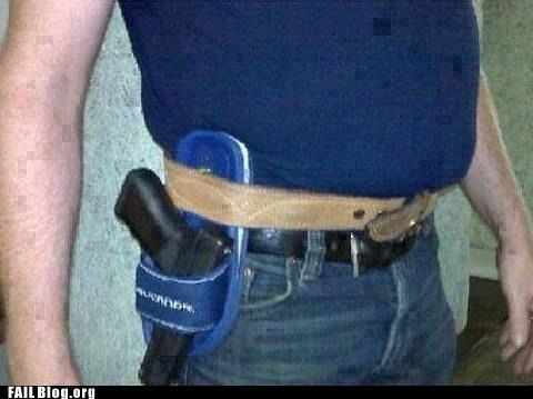 gun,holster,sandals