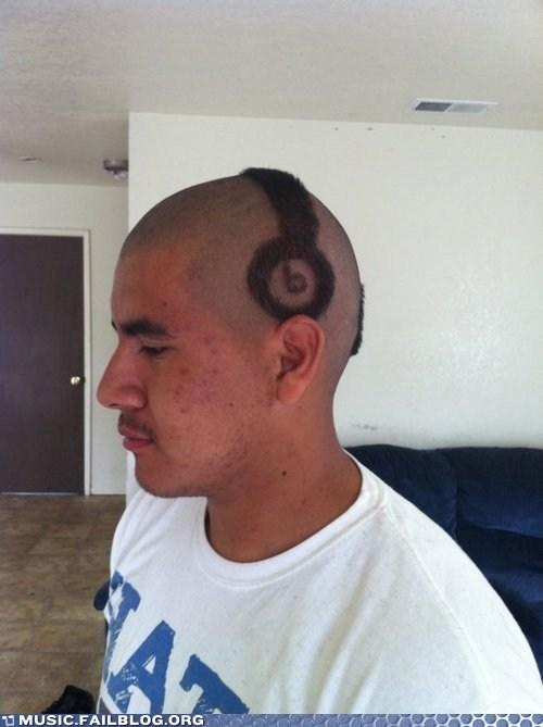 beats by dre hair headphones - 6491398656