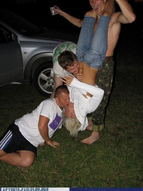 handstand,jeff foxworthy,making out,rednecks
